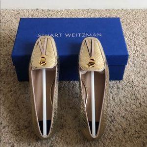 Stuart Weitzman Slipknot loafers.
